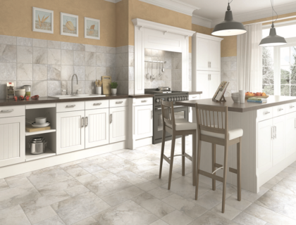 Growing Popularity Of Stone Look Porcelain And Other Decorative Tiles For Kitchen